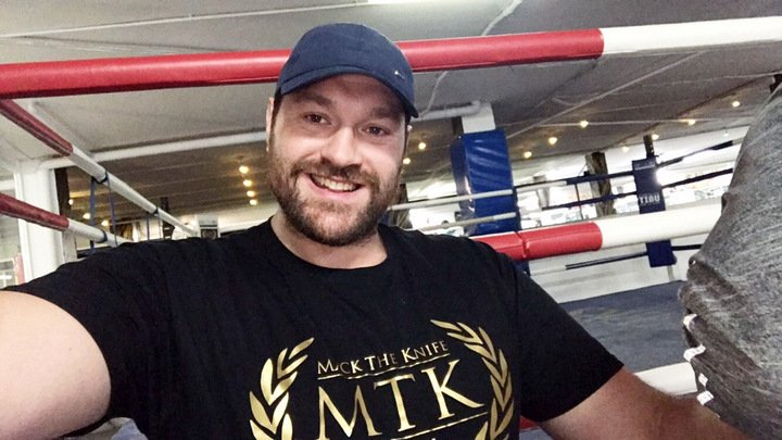 Tyson Fury Signs with MTK Global