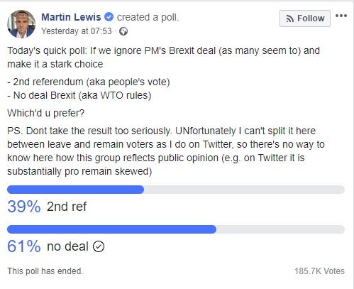 Martin Lewis EU Poll